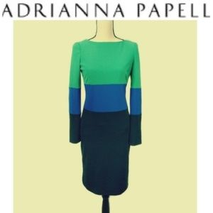 Adrianna Papell Colorblock Bodycon Dress 2